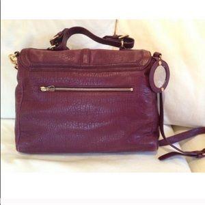 Tory Burch Bags - Tory Burch 797 large plum satchel